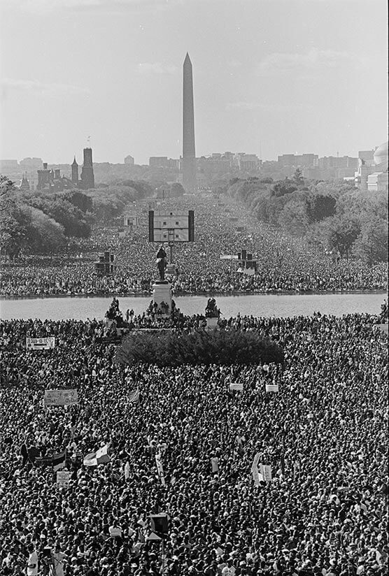 Million Man March - Washington DC, 1995
